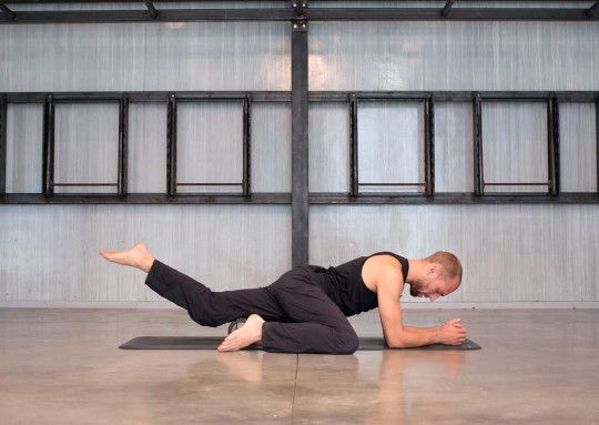Rolling the Hamstrings and Upper Back
