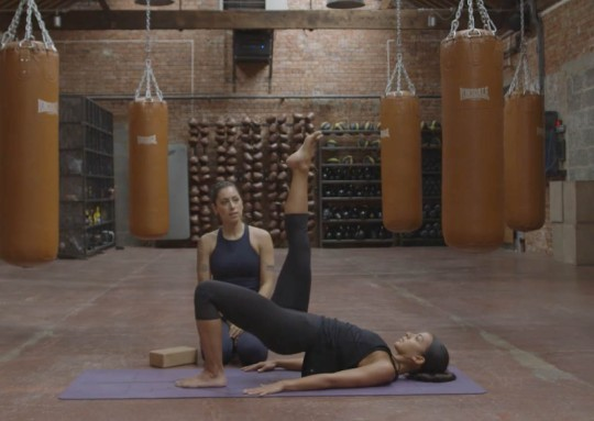 King Pigeon Yoga Workshop - Glute and Ab Conditioning