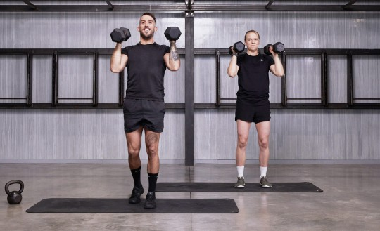 Shoulders and Arms Strength
